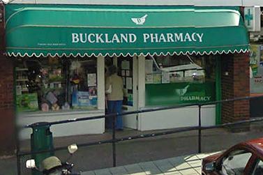 Buckland Pharmacy Newton Abbot